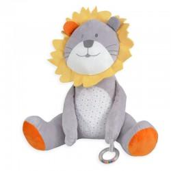 Grande peluche lion Fanfan...