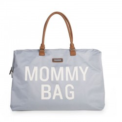 MOMMY BAG LARGE GREY OFF WHITE