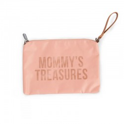 MOMMY CLUTCH PINK-COPPER