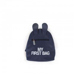 "SAC A DOS ""MY FIRST BAG"" BLEU"