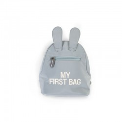 "SAC A DOS ""MY FIRST BAG"" GRIS"