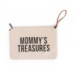 MOMMY CLUTCH OFF WHITE-BLACK