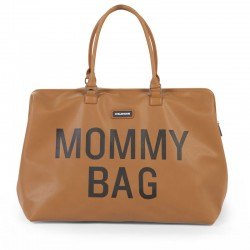 MOMMY BAG SIMILI CUIR BRUN