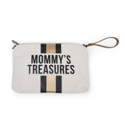 MOMMY CLUTCH CANVAS OFF...