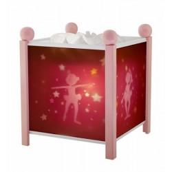 Lanterne magique rose...