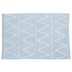 TAPIS HIPPY SOFT BLUE  AZUL...