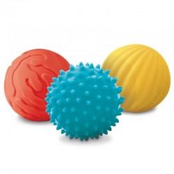 3 Balles Sensorielles - Lapin