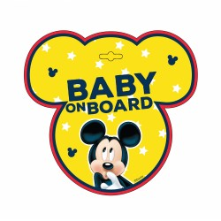 BABY ON BOARD MICKEY