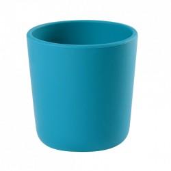Verre silicone bleu