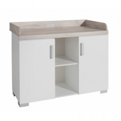 COMMODE 2 PORTES 2 NICHES...