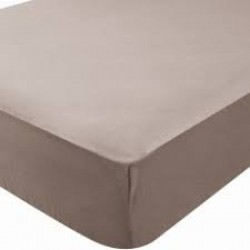 DRAP HOUSSE 60 X 120 TAUPE