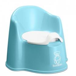 Pot fauteuil Turquoise