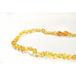 Collier Ambre - Honey